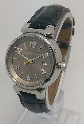 Louis Vuitton Tambour Ladies 28mm Watch Steel Full Set