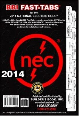 2014 electrical code book tabs