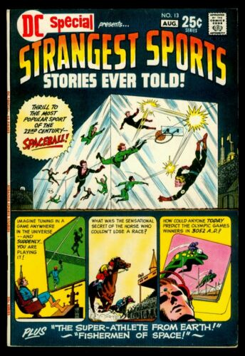 DC Comics DC SPECIAL #13 STRANGEST SPORTS Stories Ever Told VFN- 7.5