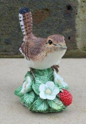 BORDER FINE ARTS Wren Bird Figurine - Jenny Wren