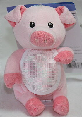 Charles Craft - Stitchable Stuffed Animal - Pink Pig With 4 Chart Options