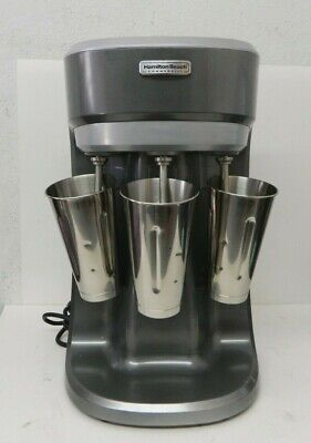 Hamilton Beach Commercial Hmd400 Triple-spindle Milkshake Maker Drink Mixer
