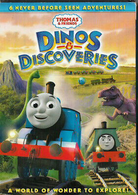 NEW Thomas & Friends Dinos and Discoveries (DVD) The Tank Engine Trains SEALED