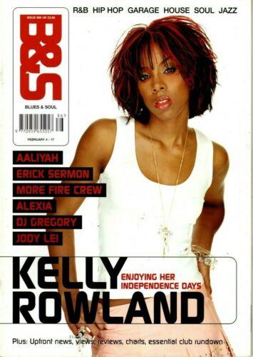 Blues & Soul Magazine 2003  Kelly Rowland  Aaliyah  Alexia Jody Lei Erick Sermon