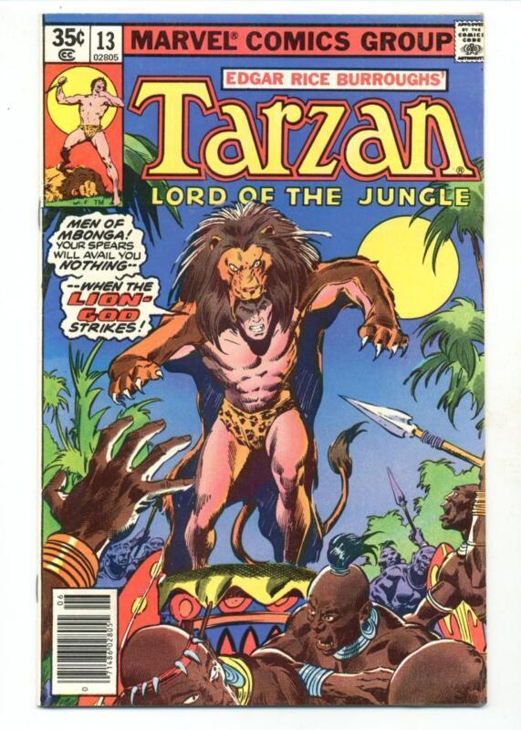Tarzan #13    Lion God Strikes