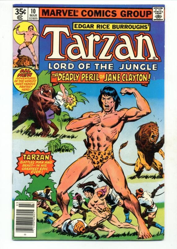 Tarzan #10    The Deadly Peril of Jane Clayton