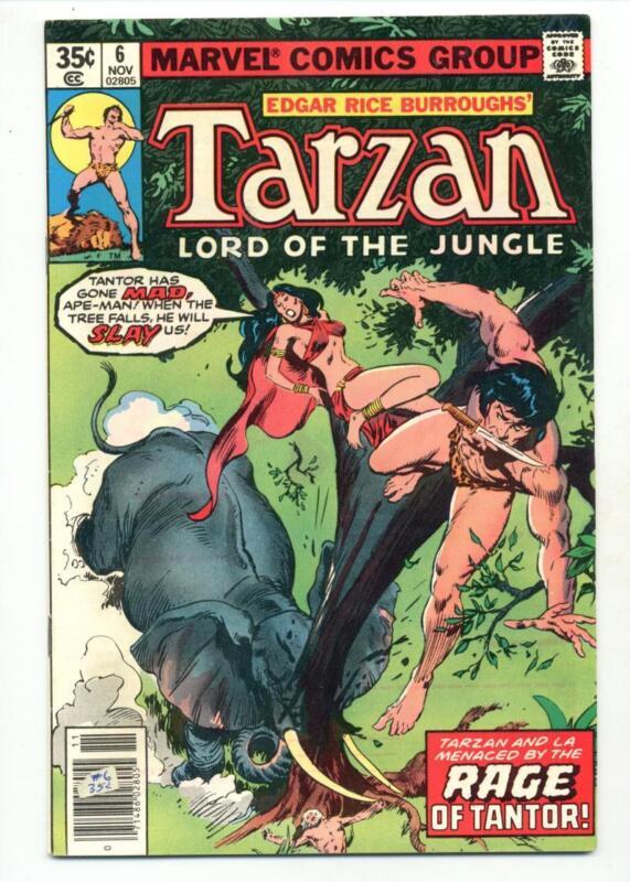 Tarzan #6    Rage of Tantor