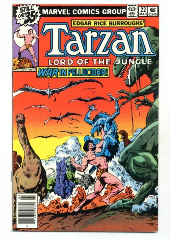 Tarzan #22    War in Pellucidar