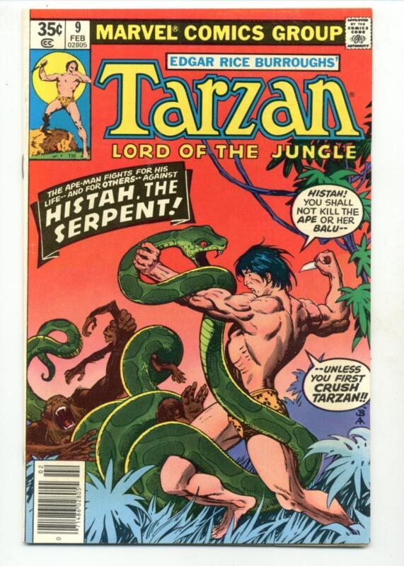 Tarzan #9    Histah the Serpent