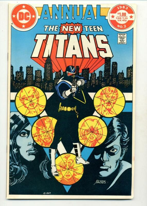 New Teen Titans Annual #2    1st Vigilante