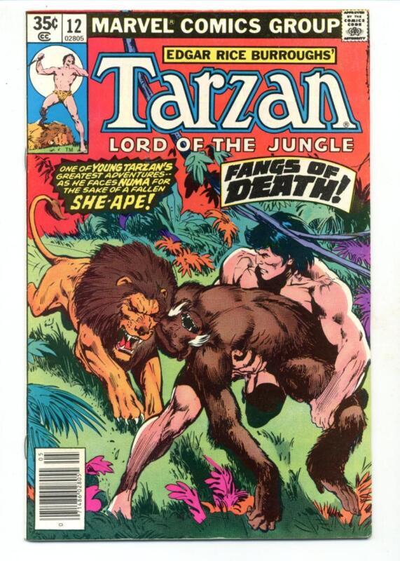 Tarzan #12    Fangs of Death