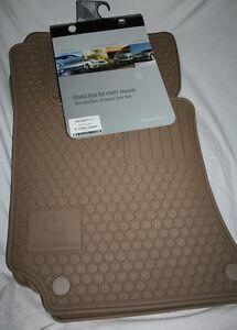 2010 to 2014 mercedes e550 rubber floor mats set of 4 for Mercedes benz floor mats e350