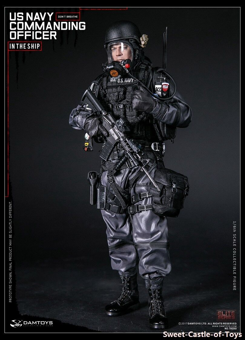 16 DamToys US Navy Commanding Officer 78050 Action Figure DAM Toys Male