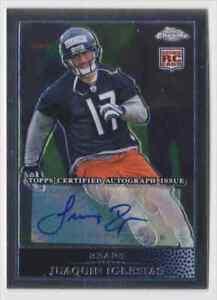 2009 Topps Chrome Certified Autograph Juaquin Iglesias RC Chicago Bears #168