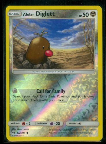 JAPANESE Pokemon Cards Alolan Diglett 030 Dugtrio 031//054 SM9b NM//M
