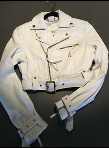 Marciano white leather jacket  woman's