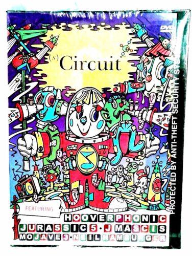 Circuit DVD 2000 Music Magazine Hooverphonics Jurassic 5 J Mascis NEW 1:8