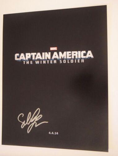 Sebastian Stan Signed Autographed 11x14 Photo CAPTAIN AMERICA COA VD