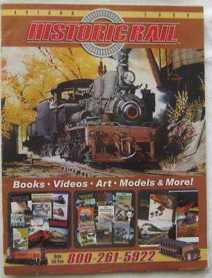 Historic Rail Catalog Autumn 2008