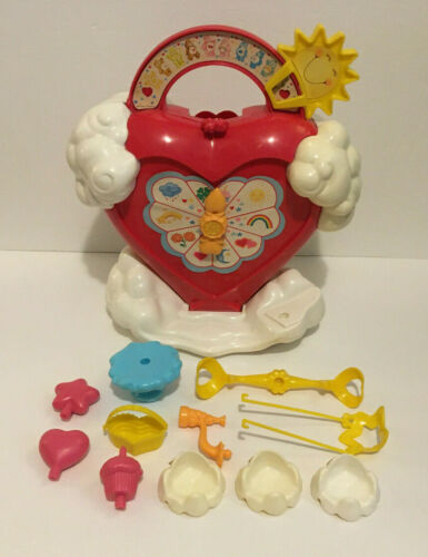 Vintage Kenner 1983 Care Bears Care-A-Lot Playset w/ Accessories
