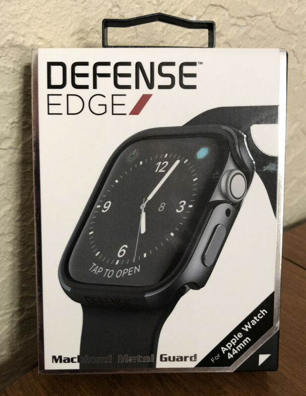 X-doria Defense Edge Apple Watch 44mm Bumper Case Protection Black