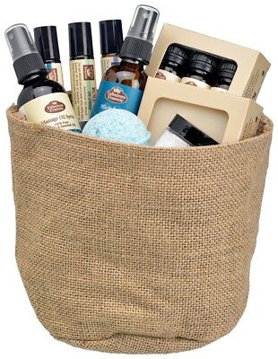 All Natural Gift Basket - Sleepy Time Gift Basket All Natural with Pure Essential Oils by Fabulous Frannie