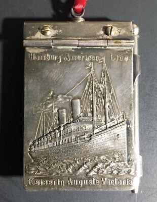 SS Kaiserin Auguste Victoria ca 1906 Memo Writing Pad Pencil Paper Ship Souvenir