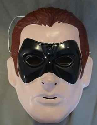 Batman Robin Child PVC  Costume Mask Rubies Licensed New - Robin Costume Mask