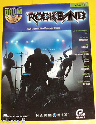 Rock Band 2005 Songbook Plus A Play Along CD! Nice See! ()