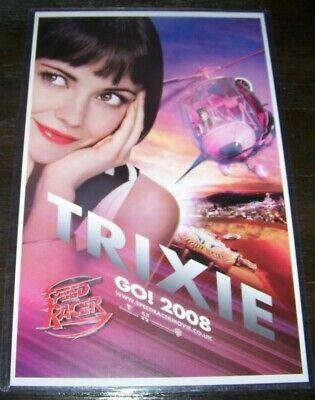 Speed Racer Trixie 11X17 Poster Christina - Speed Racer Trixie
