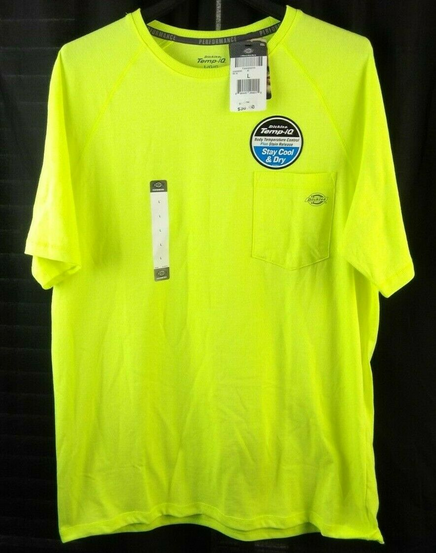 Dickies Men's Short Sleeve Performance Cooling Tee NWT