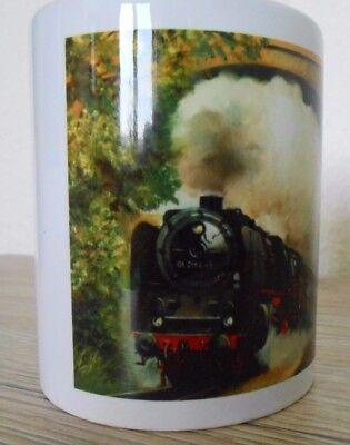 Tasse mit Eisenbahn - Motiv 01 2114-5