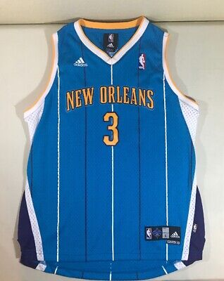 Adidas Chris Paul #3 New Orleans Hornets Jersey Youth Size L -