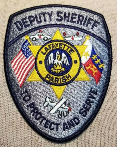 LA Lafayette Parish Louisianan Sheriff Patch