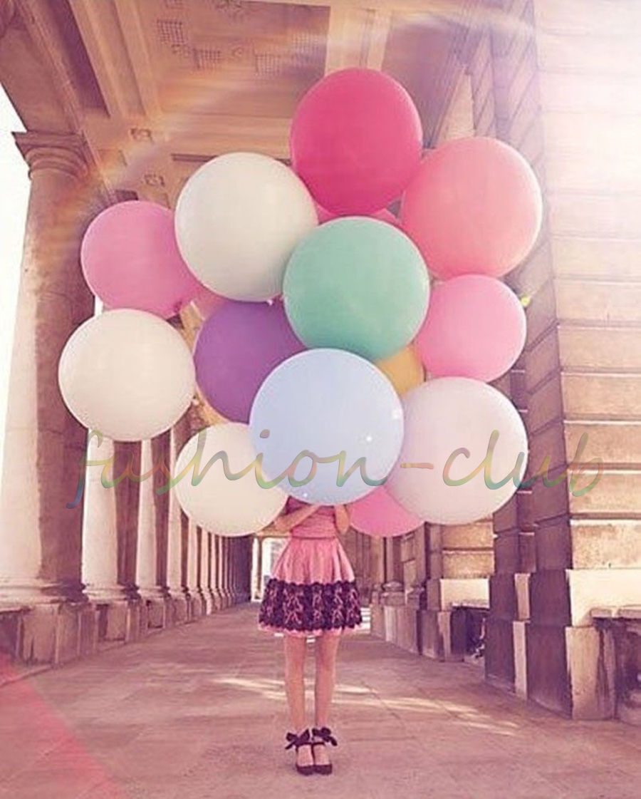 36 inch Big Round Latex Balloon Wedding Decor Baloons Party Decor ...