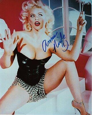 Anna Nicole Smith Autographed 8X10 Signed Photo Reprint