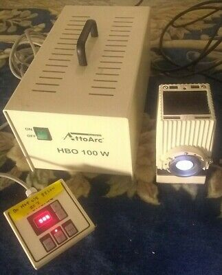 Carl Zeiss Microscope Hbo 100w Attoarc Variable Power Supply Fluorescence