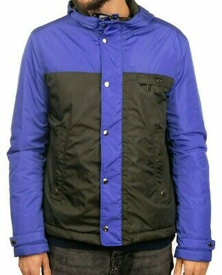 NEW €1195 JOHN RICHMOND Hooded Jacket Engineered Colour Block Garment L - XL