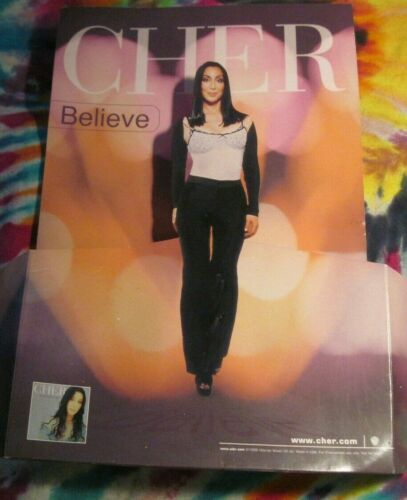 CHER - BELIEVE COUNTER DISPLAY FOE 45 OR CD - PROMO ONLY---------  K @ @ L