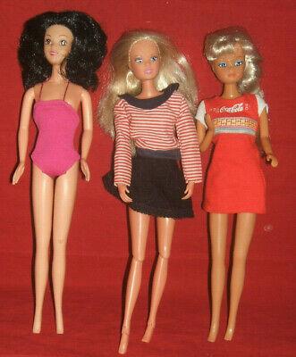 vintage Simba dolls x 3