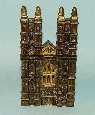 WESTMINSTER ABBEY CAST IROIN BANK SYDENHAM & MCOUSTRA ENGLAND 1910