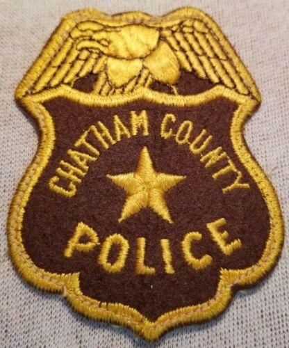 GA Chatham County Georgia Police Patch