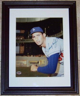 FLASH SALE! Sandy Koufax Signed Autographed Framed 8x10 Baseball Photo SGC COA!](Cheap 8x10 Frames)
