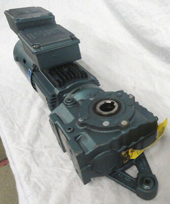 Sew Eurodrive Electric Motor Dft80n4thvs W Gearbox Sa47tdt80n4thvs New