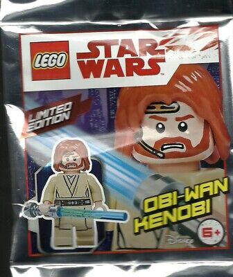 LEGO: Star Wars Foil Pack Limited Edition Obi-Wan Kenobi - Polybag - Brand New