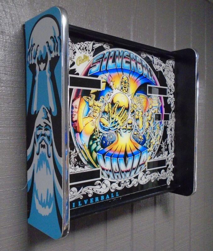 Bally SilverBall Mania Pinball Head LED Display light box
