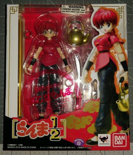 Bandai Tamashii Nations S.H. Figuarts Girl Female Ranma 1/2 New USA Seller