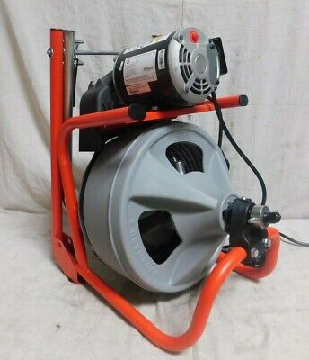 Ridgid 26998 Drain Cleaning Machine Drain Line I.d. Size Range 1-12 To 4