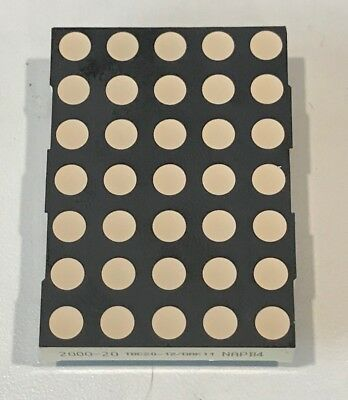 Qty10led Dot Matrix 35 Segment 5 X 7 Array Redgreen Arduino Hobby Electronic