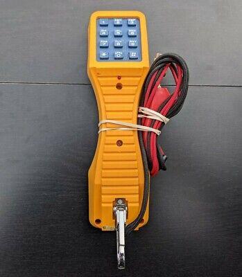 Fluke Networks Ts19 Portable Lineman Test Telephone Set Phone Butt Set - Cleaned